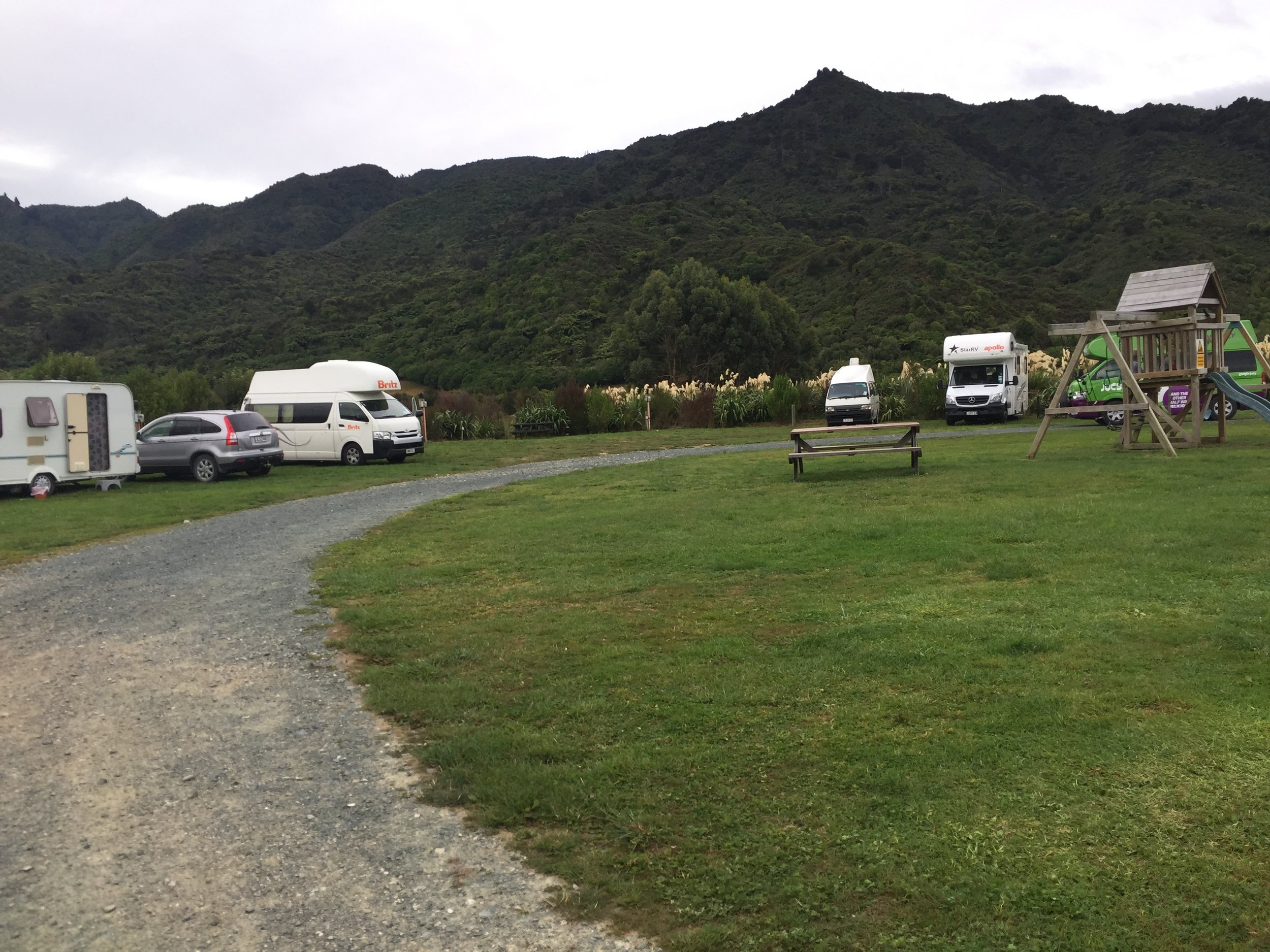 holiday park in New Zealand