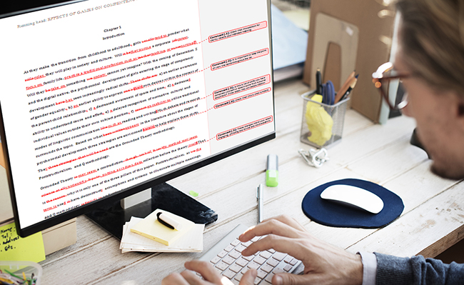 A Note On Proofreading Services